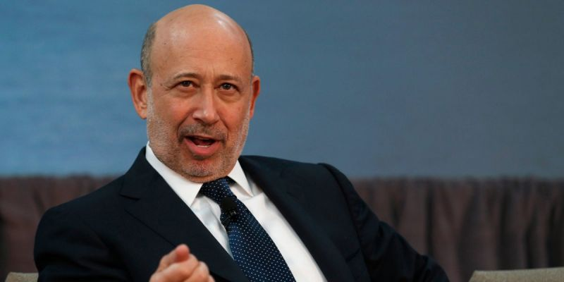 Lloyd Blankfein: Chill out.