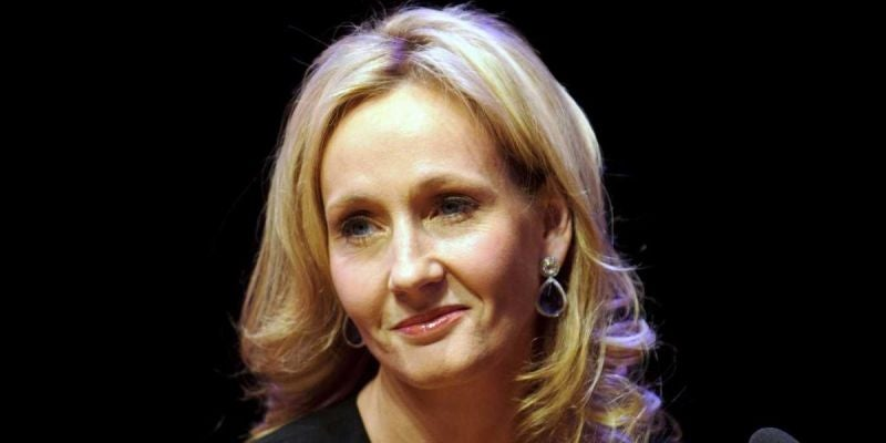 J.K. Rowling: Embrace failure.