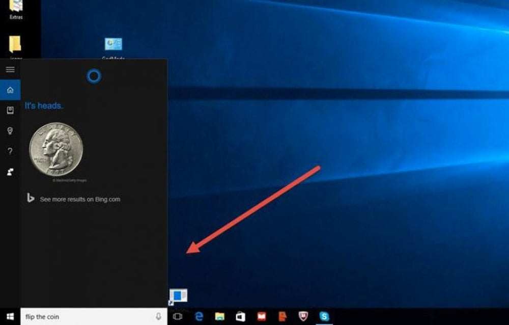 Hidden Games in Cortana