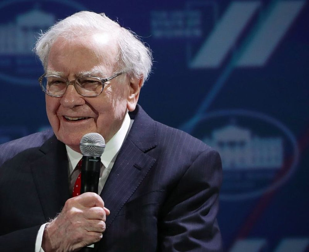 4. Warren Buffett, chairman and CEO of Berkshire Hathaway