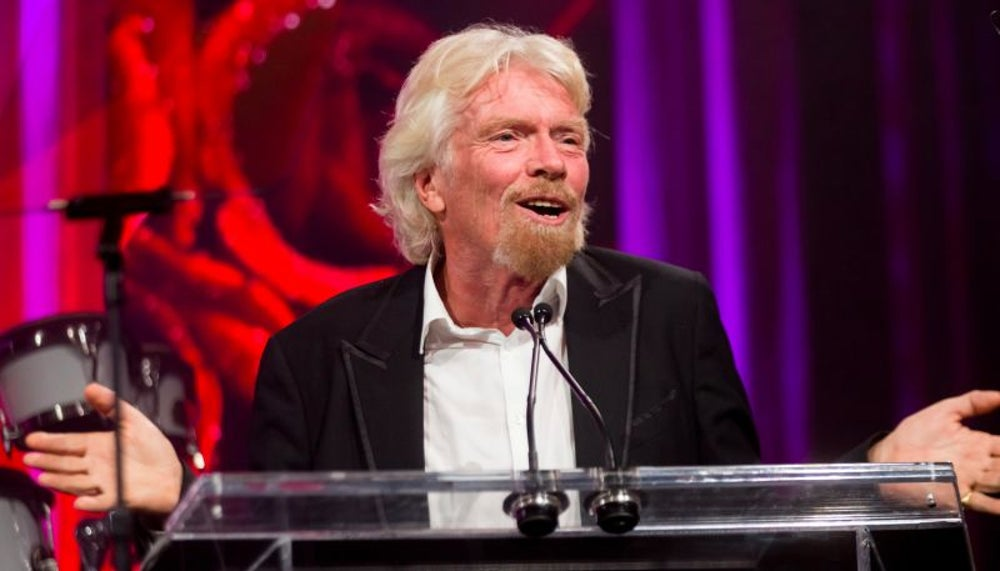 5. Richard Branson, founder of The Virgin Group