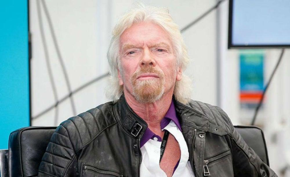 Richard Branson, fundador de The Virgin Group
