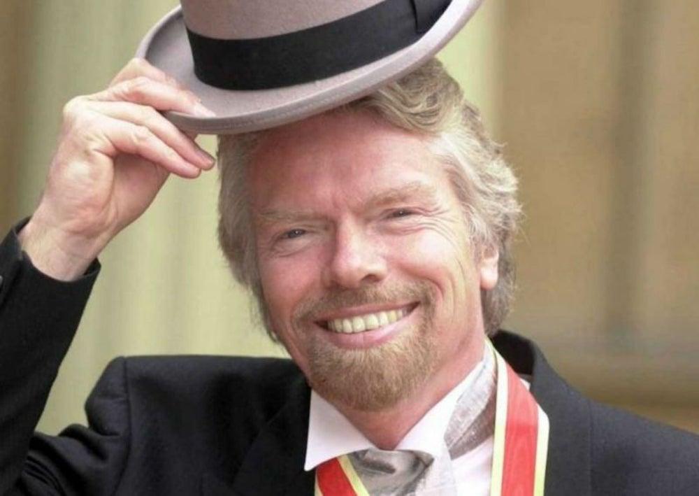 5. Richard Branson criaba aves