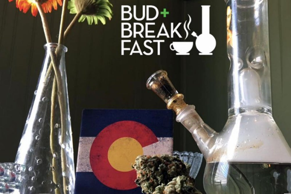 Cannabis-friendly bed and breakfast