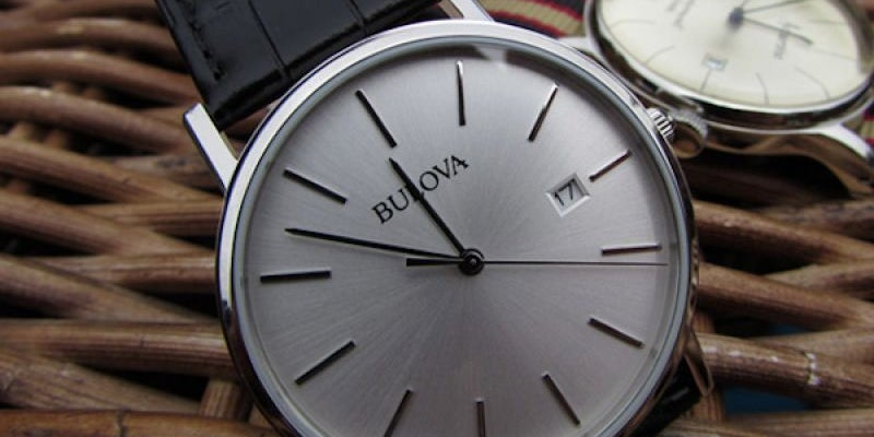 Bulova Stainless Steel Dress Watch