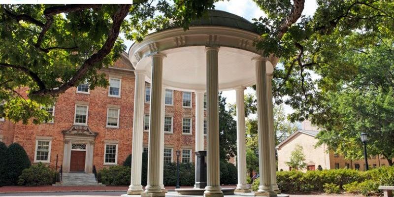 #1 University of North Carolina at Chapel Hill