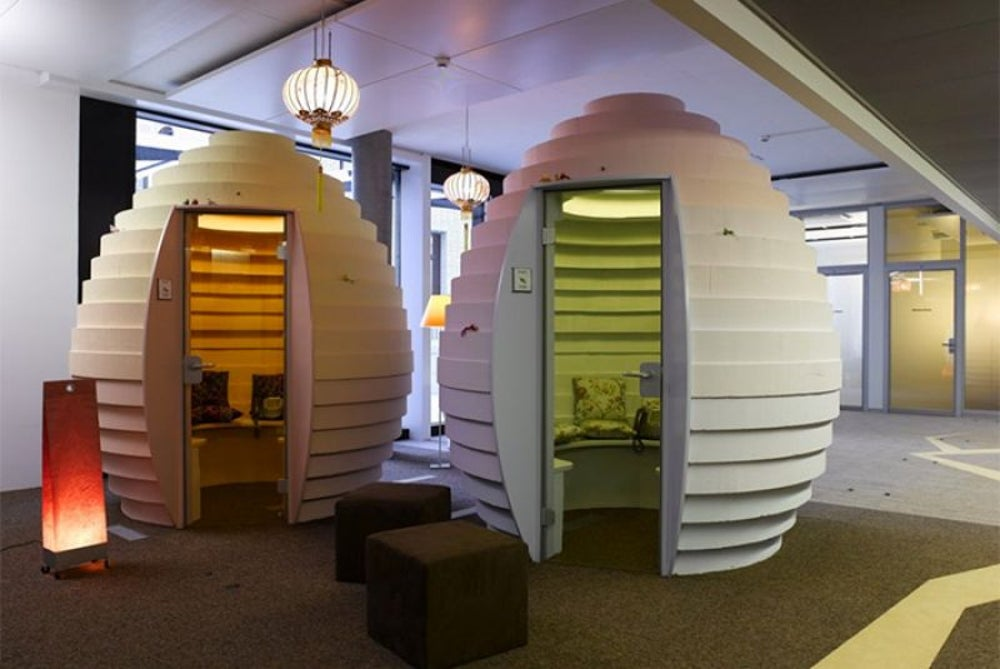 Take a quick nap at Google's Zurich office.