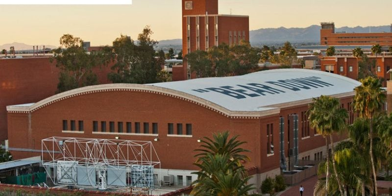 #19 University of Arizona