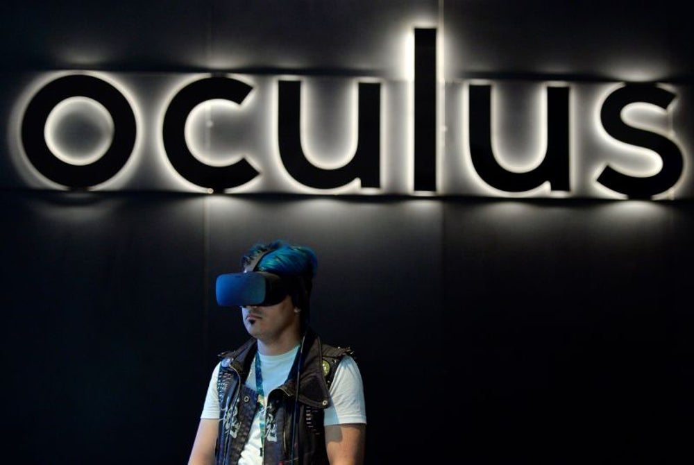 He gave Oculus's early backers free Rift headsets.