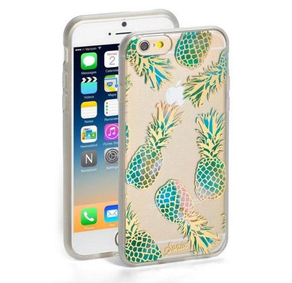 Liana Teal iPhone Case