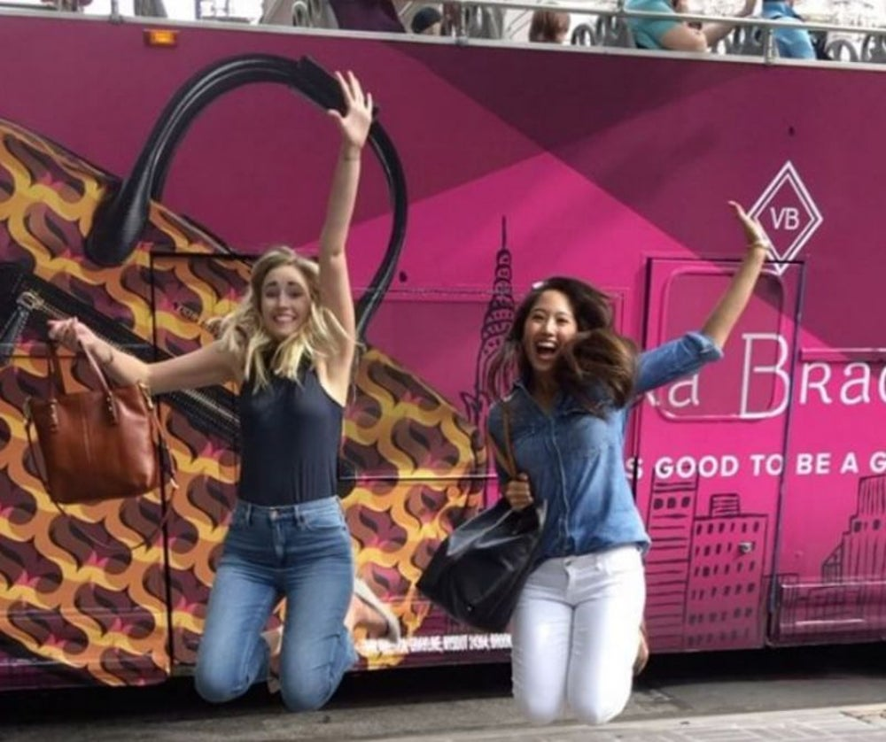 "Retailer Vera Bradley launches a ""girly"" campaign."
