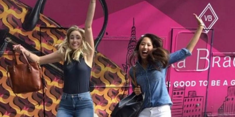 """Retailer Vera Bradley launches a """"girly"""" campaign."""