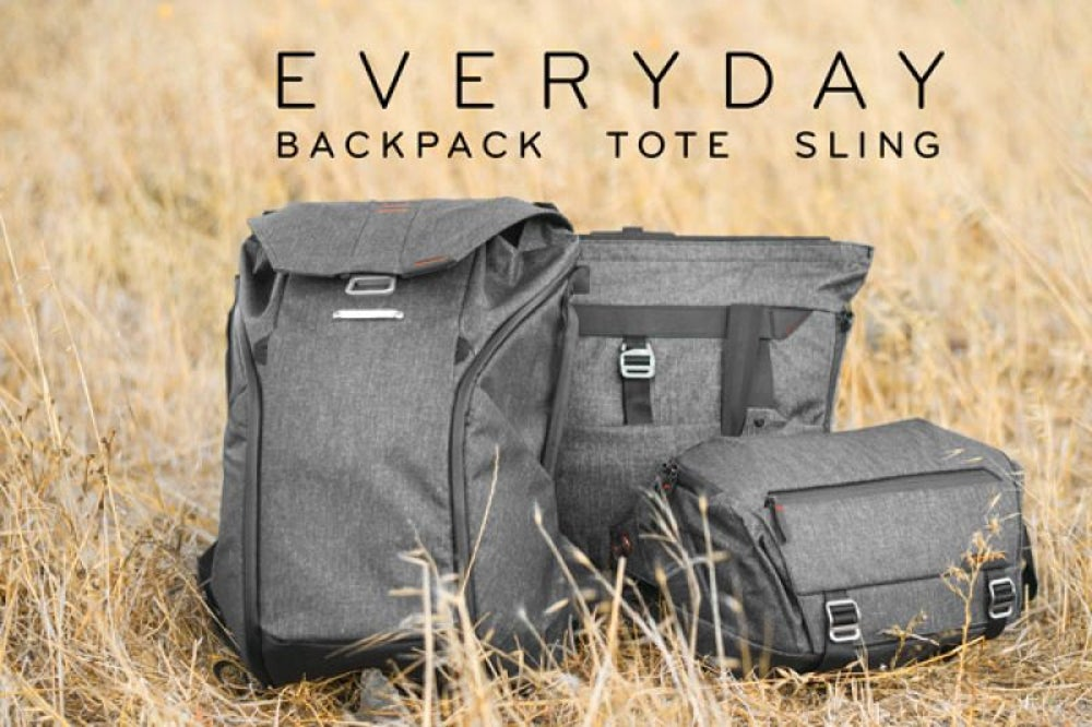 The Everyday Backpack, Tote and Sling