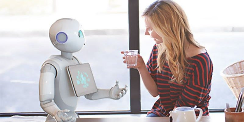 Pizza Hut is looking to use robots to wait tables.