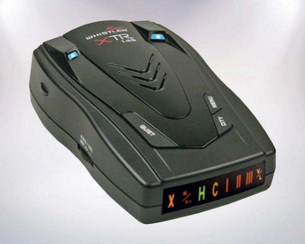 Whistler XTR-145 Easy To Read Car Radar Detector