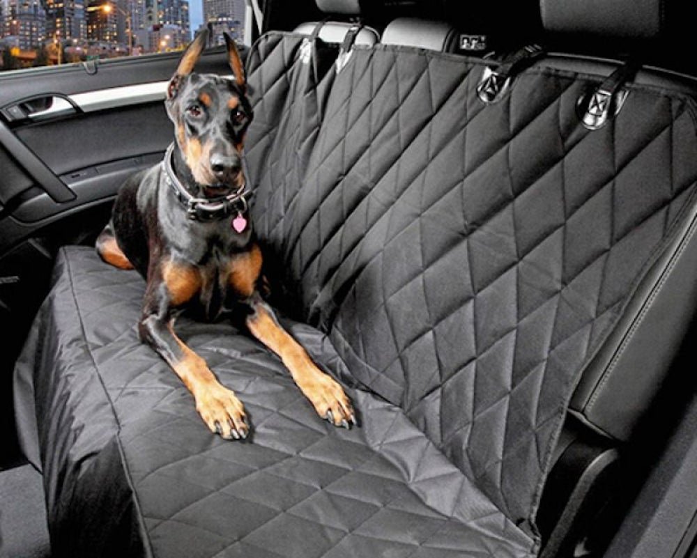 Anjuren Dog Car Back Seat Hammock Covers (Cars, SUVs & Trucks)