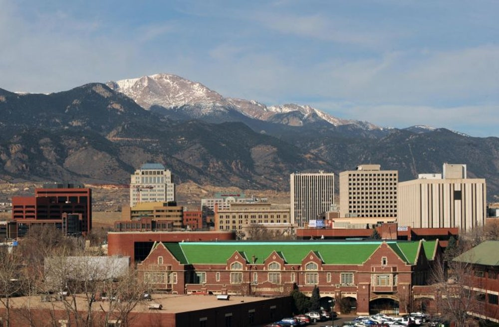 7. Colorado Springs, Co.