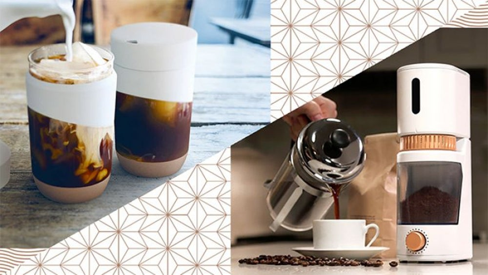 Voltaire Smart Grinder + Ever Cup Travel Mug
