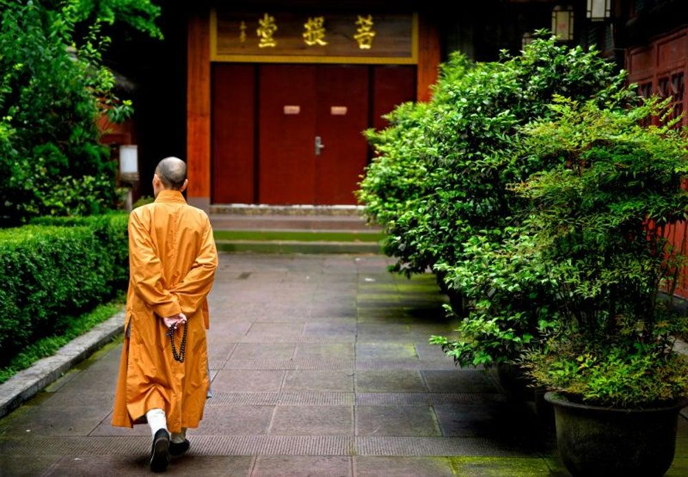 Rent a Buddhist monk.