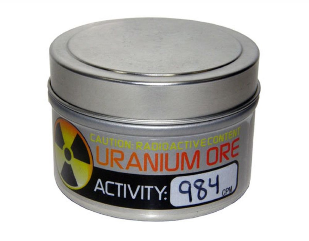 "Purchase ""radioactive"" uranium ore."