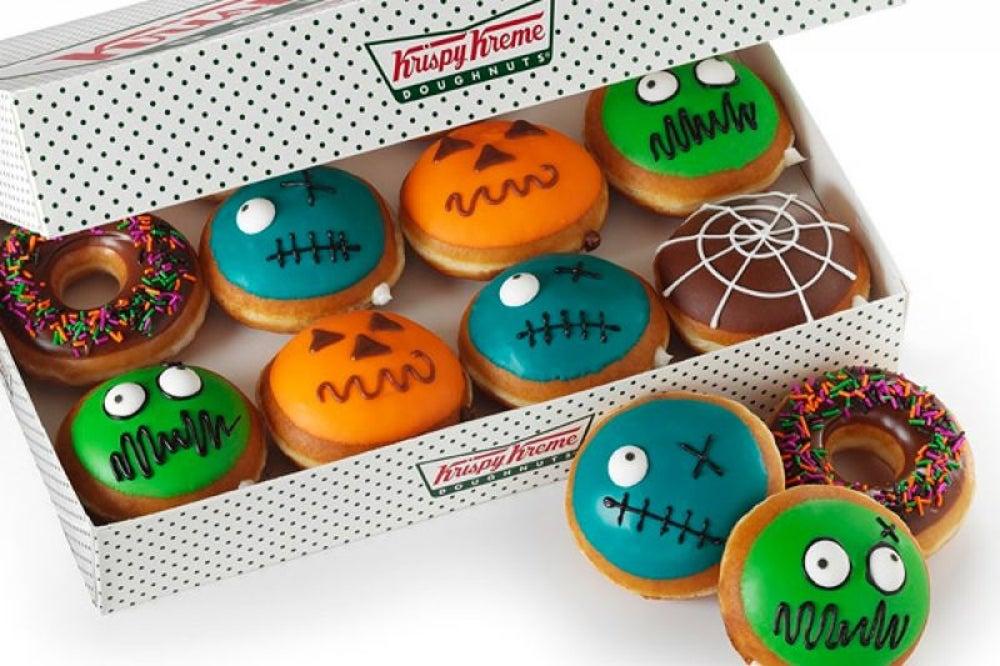 Krispy Kreme Zombie Donut