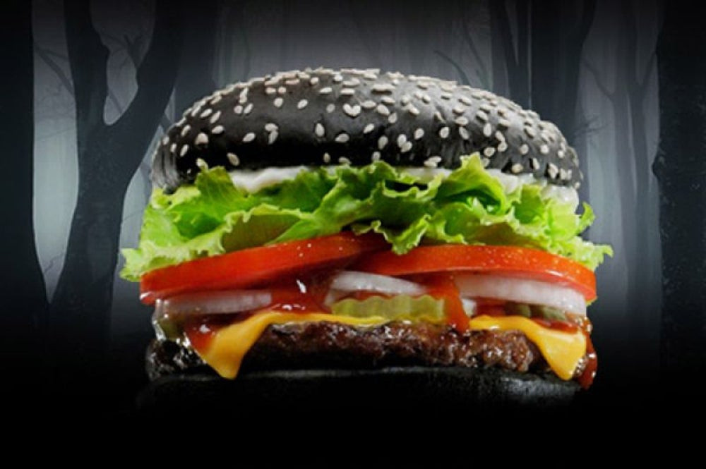 Burger King Black Whopper