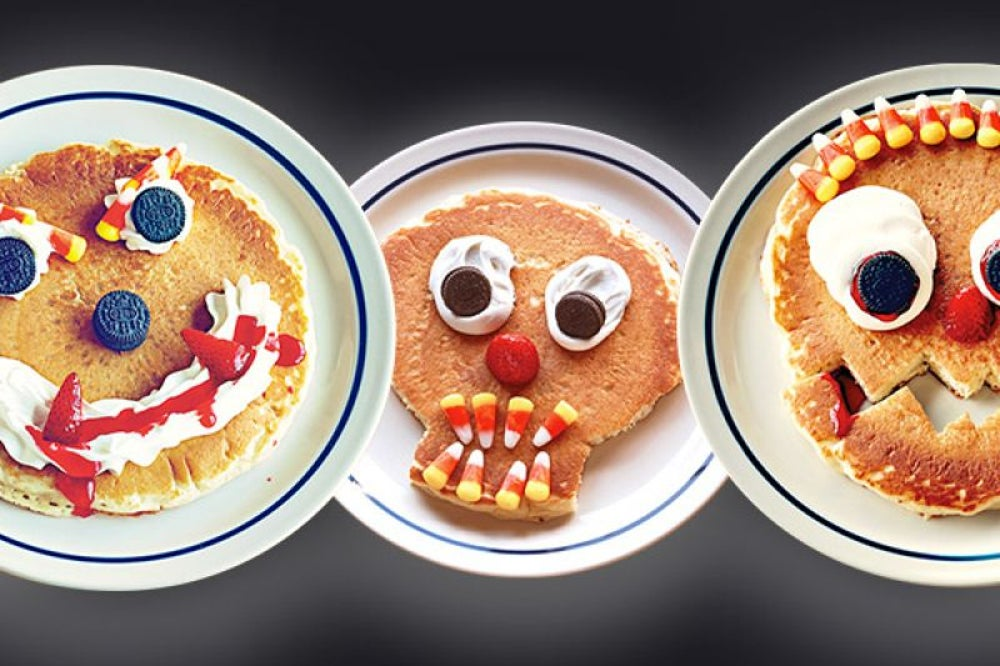 iHop Scary Face Pancakes