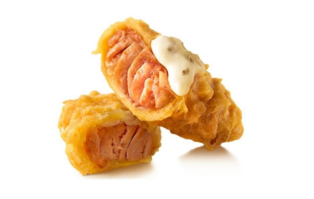 Deep Fried Salmon, KFC, Japan