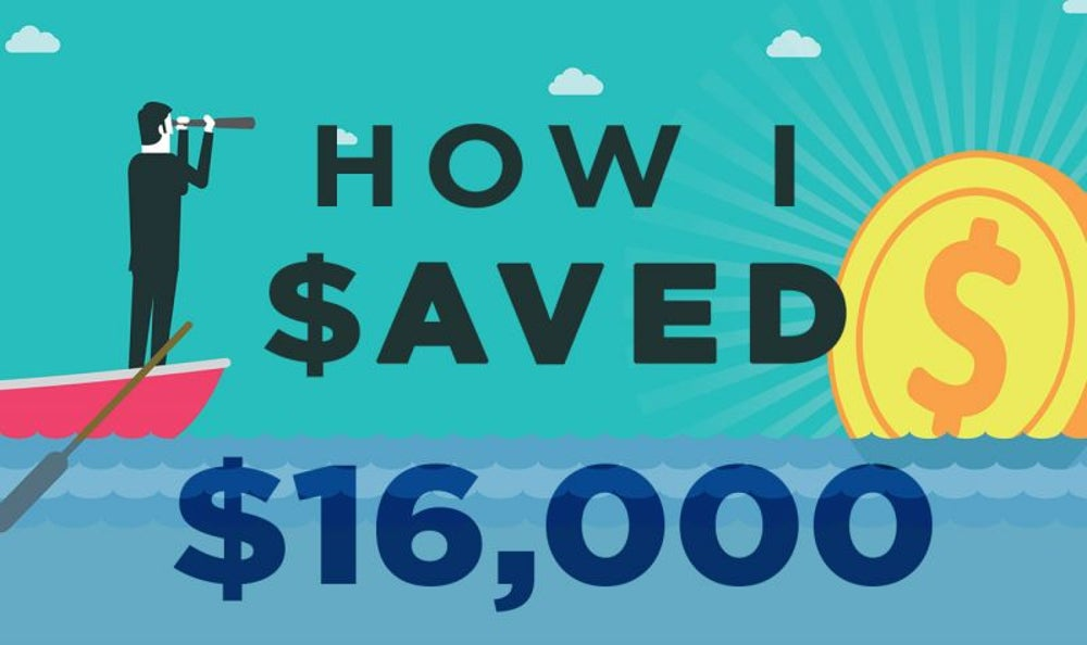 How I Saved $16,000