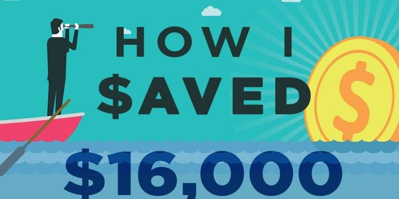 How I Saved $16,000