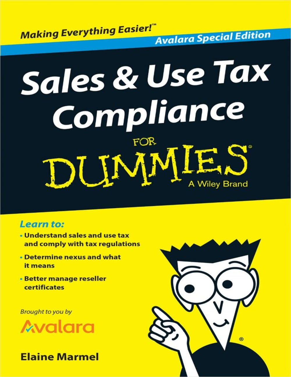"""Sales & Use Tax Compliance For Dummies"""