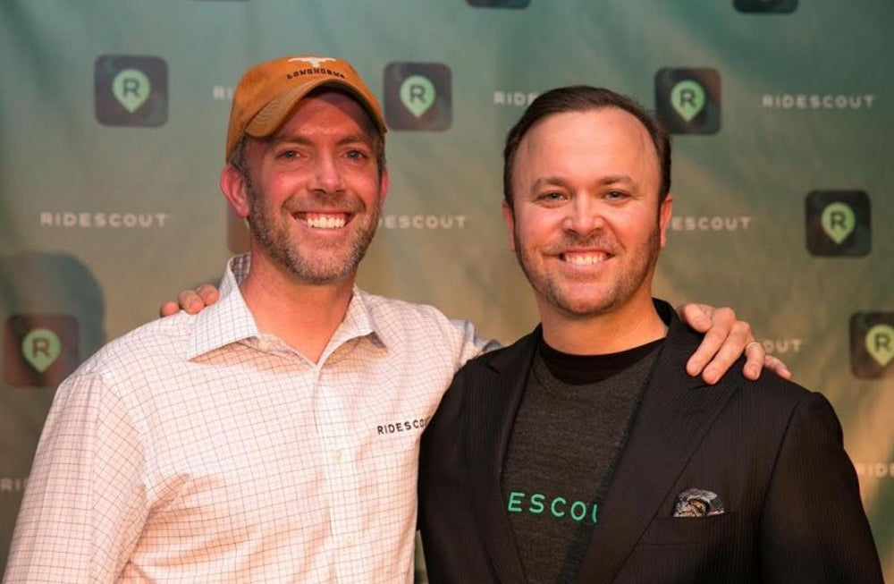 Joseph Kopser and Craig Cummings, co-founders of Moovel
