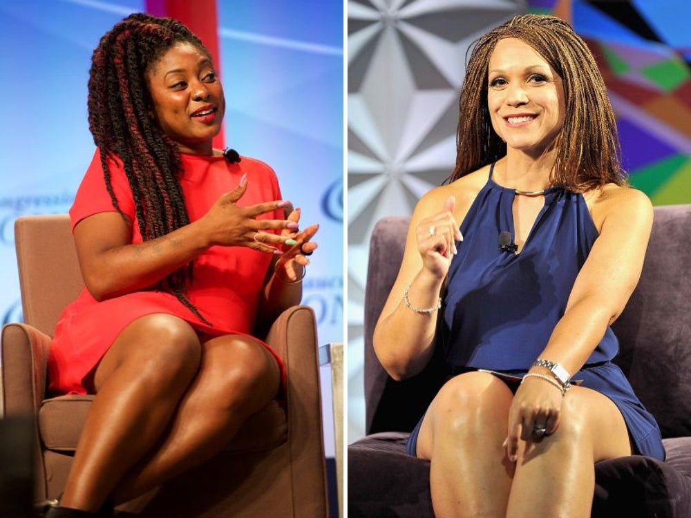 Alicia Garza, Melissa Harris-Perry and Our100