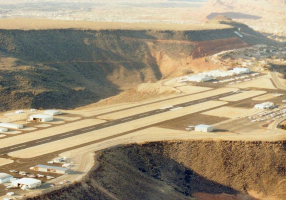 Most Reliable U.S. Airport: St. George, Utah