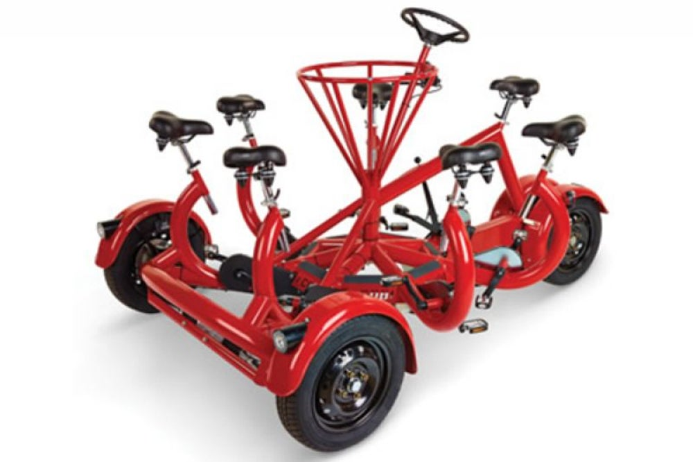 Seven-Person Tricycle