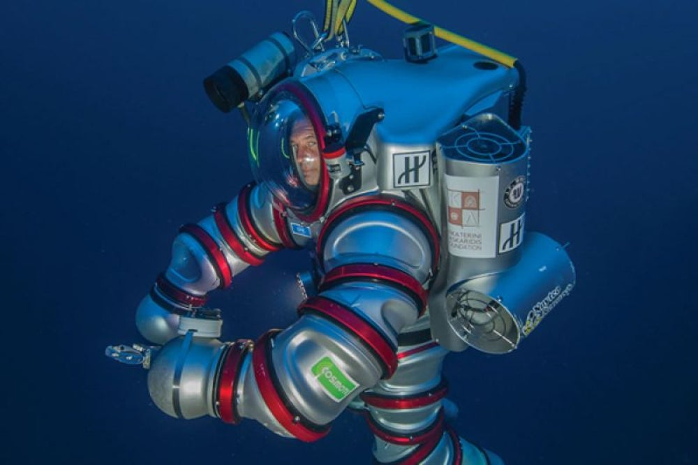 Self-Propelled Aquanaut's Suit