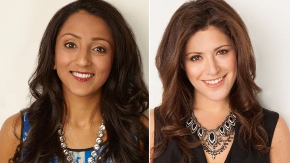 Amy Jain and Daniella Yacobovsky, co-founders of BaubleBar