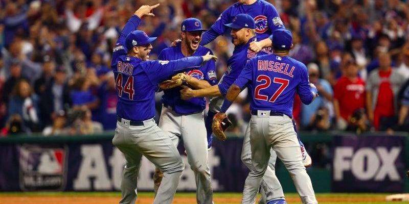 The Cubs break their 71-year curse.
