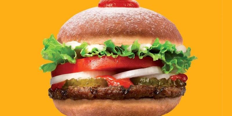 Hanukkah doughnut Whopper, Burger King, Israel