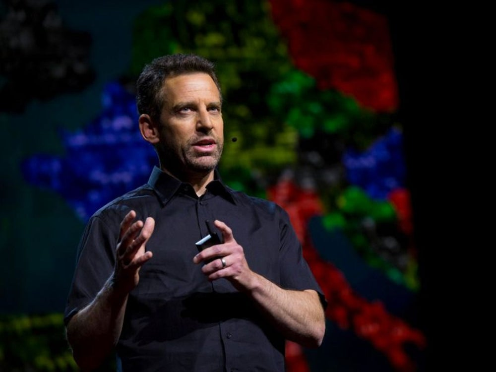 """Can we build AI without losing control over it?"" by Sam Harris"