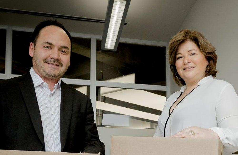Joaquín Sánchez y Verónica Llerena