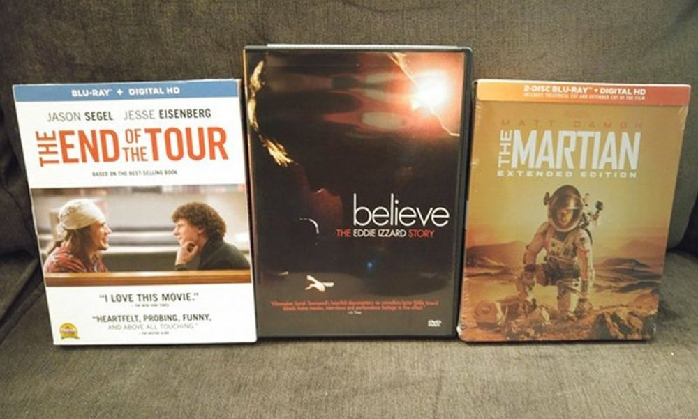 ... and these movies, three of his favorites.