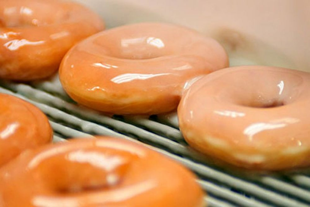 The glazed doughnut hasn't changed since 1945.