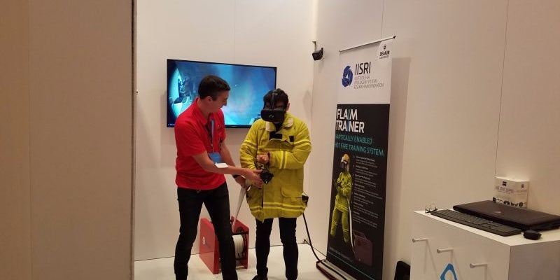 VR continues to amaze