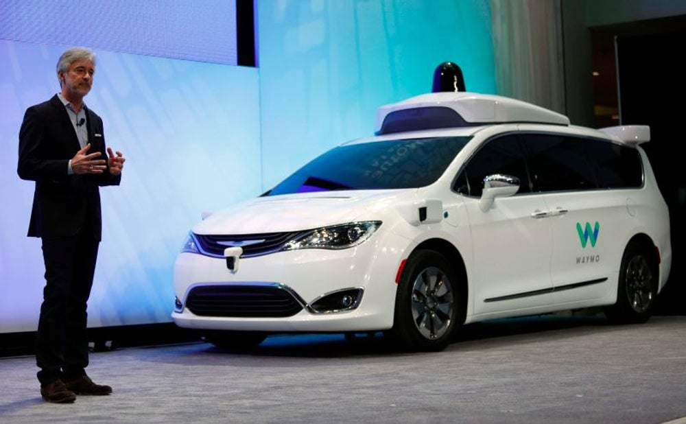 "1. Google's Waymo unit has built a ""self-driving technology platform."""