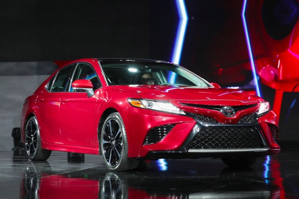 4. The old reliable Camry gets a facelift.