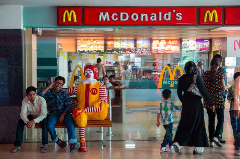 Customized Breakfast, McDonald's, India