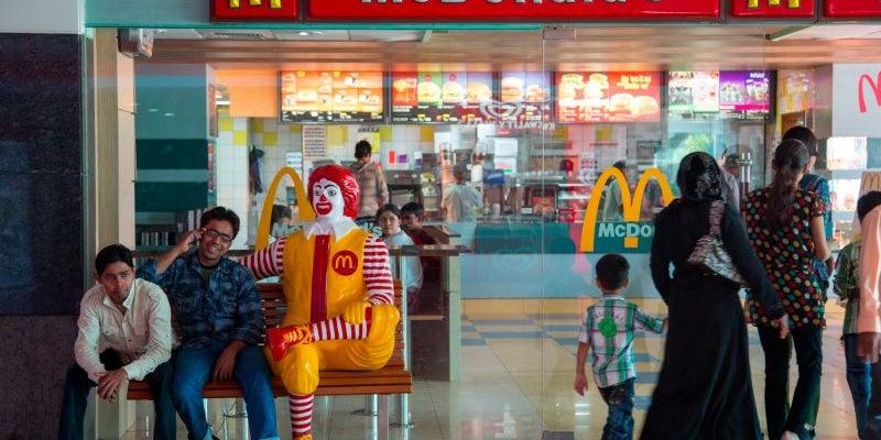Customized Breakfast, McDonald's, India