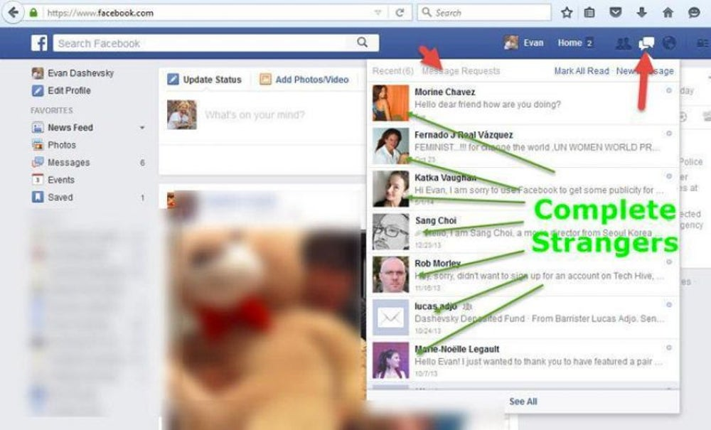 The Facebook inbox you didn't even know you had