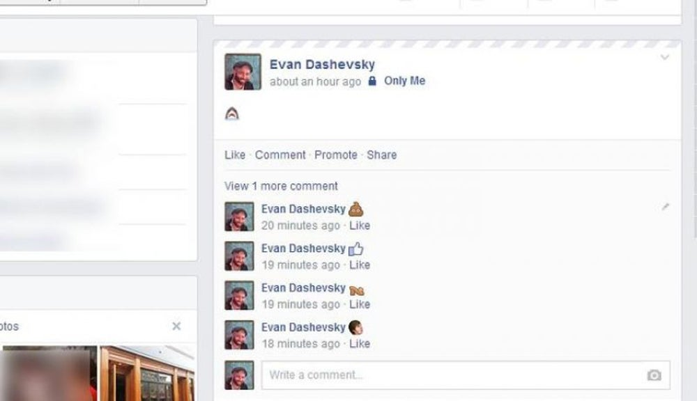 There are lots of secret emoji on FB